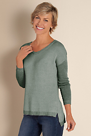 Women's My Favorite Sweater - STEELY SAGE