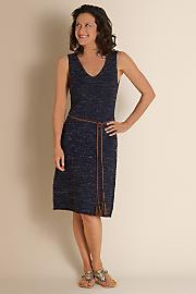 Women's Croshette Dress - DARK SKY
