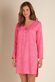 Dotted_Henley_Sleep_Shirt