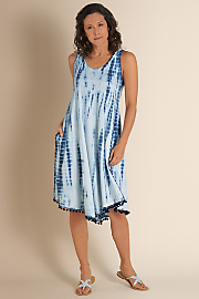 Women's La Playa Dress - TWILIGHT BLUE