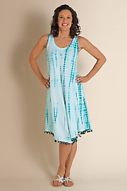 Women's La Playa Dress - TURQUOISE WATERS