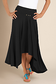 Women's St. Tropez Skirt - BLACK