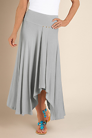 Women's St. Tropez Skirt - PEWTER