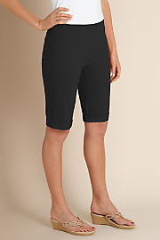 Women's Super Stretch Shorts - BLACK