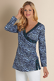 Women's Bengal Tunic - MIDNIGHT TEAL