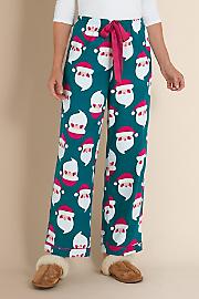 Women's Ho Ho Ho Pants - EVERGREEN