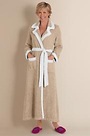 Women's Cuddly Robe - NATURAL