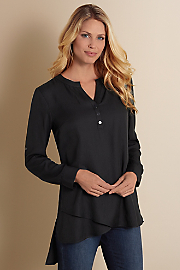 Women's In The Study Shirt - BLACK