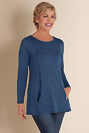 Women's Cristobal Tunic - DENIM BLUE