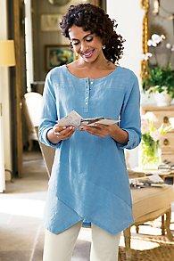 Womens Linen Tunic