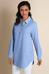 Womens Gauze Tunic