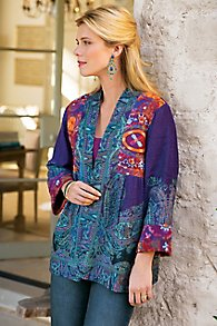 Womens Paisley Jacket