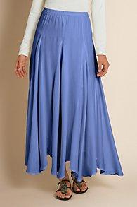 Scallop Godet Skirt