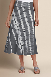 Women Mendocino Skirt - PALE GREY