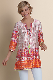 Bonaire Tunic  - SUMMER PUNCH