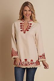 Women Sahara Tunic - NATURAL