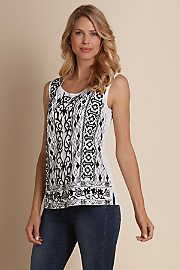 Women Embroidered Top - CANDLELIGHT