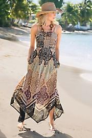 Women Boho Beach Dress - SAND
