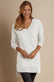 Women Olivia Sweater - CLOUD WHITE
