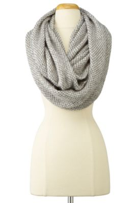 Effortless Eternity Scarf - GRAVEL