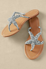 Womens Starfish Sandals