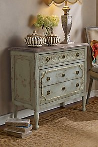 Flemish Bedside Chest