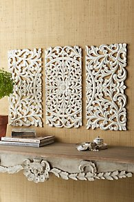 Wall Decor Adds French Style And Texture Mirrors And