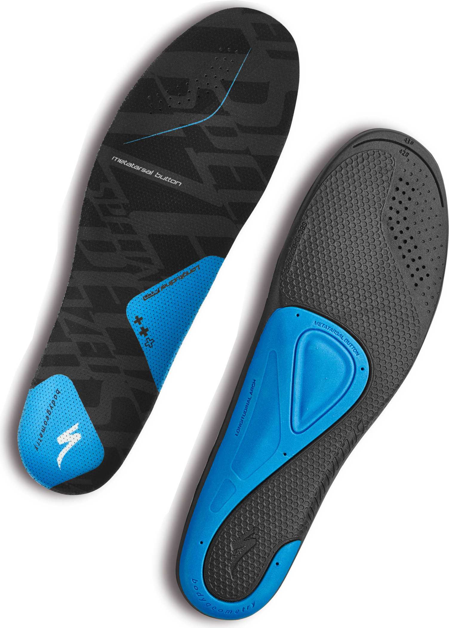 SPECIALIZED BG SL FOOTBED ++ BLU 42-43 - Bikedreams & Dustbikes