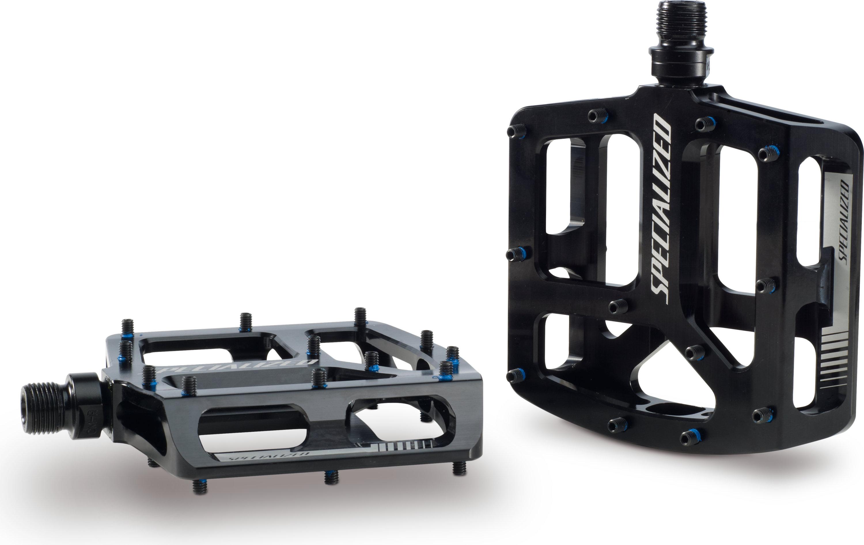 Specialized Bennies Platform Pedals Black Ano 9/16 - Alpha Bikes