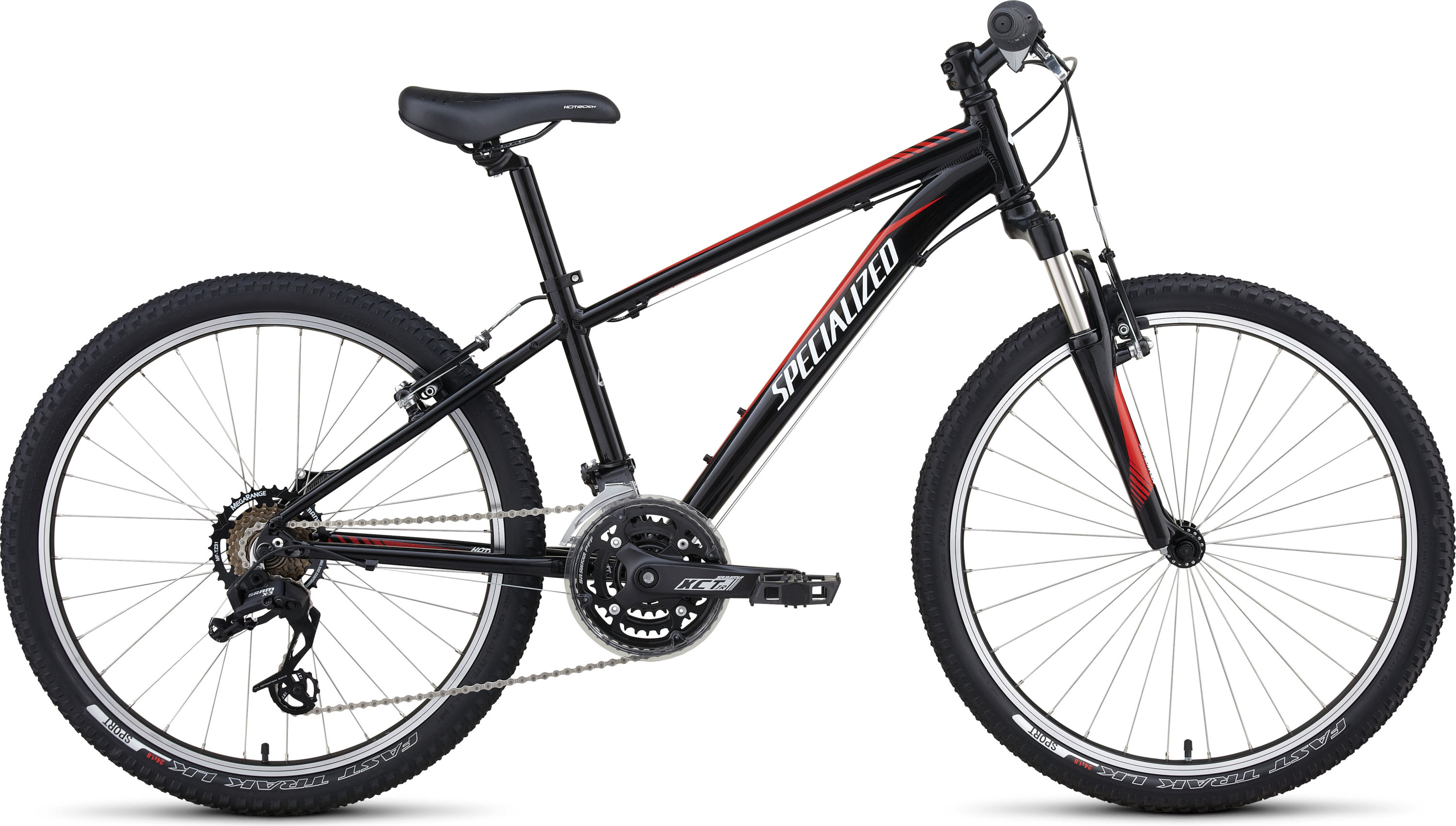 Specialized HOTROCK 24 XC BOYS Black/Red/White 11 - Bike Zone