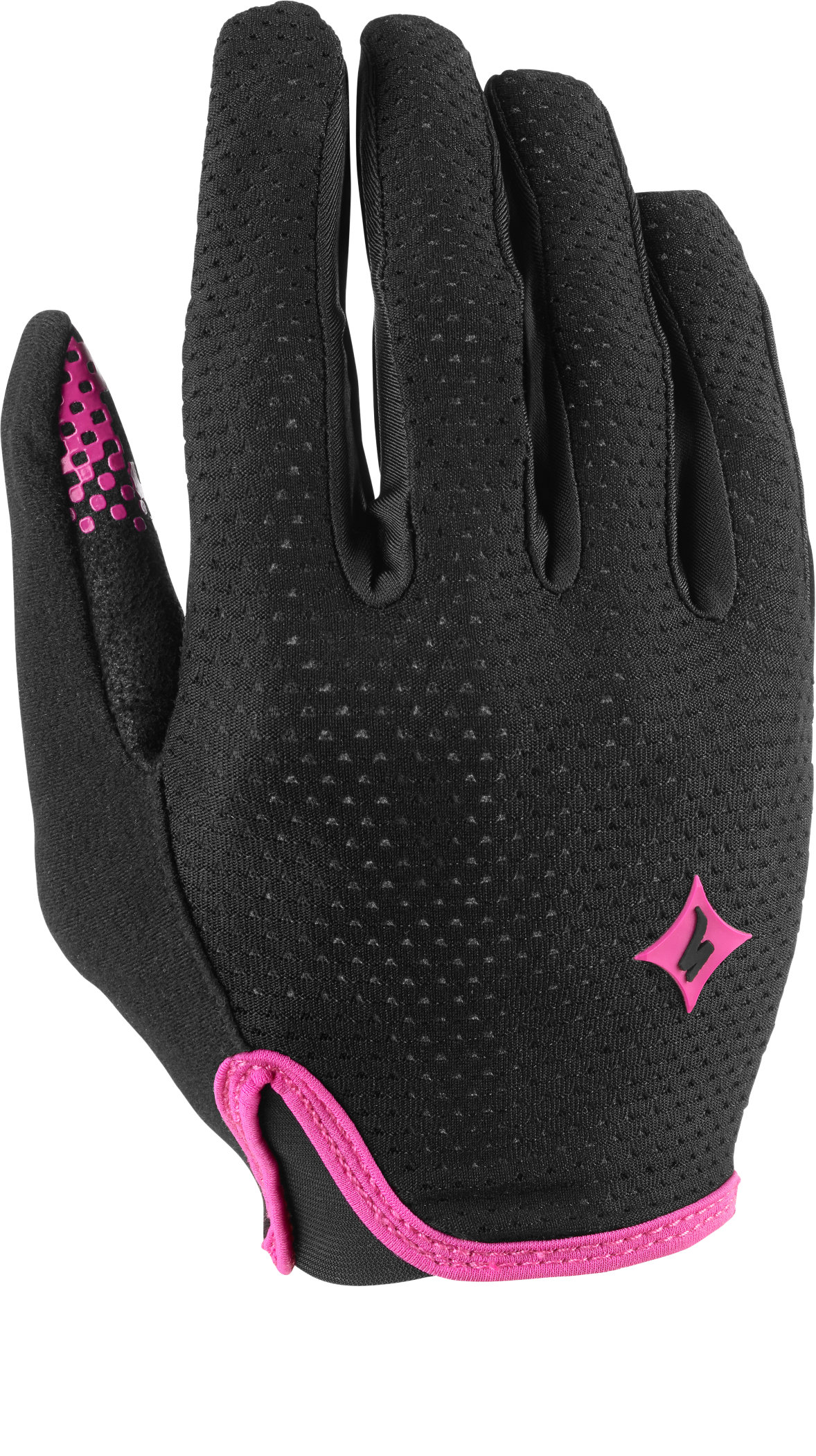 SPECIALIZED BG GRAIL GLOVE LF WMN BLK/PNK S - Bikedreams & Dustbikes