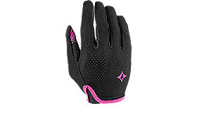 BODY GEOMETRY GRAIL GLOVE LONG WOMEN BLK/PNK S