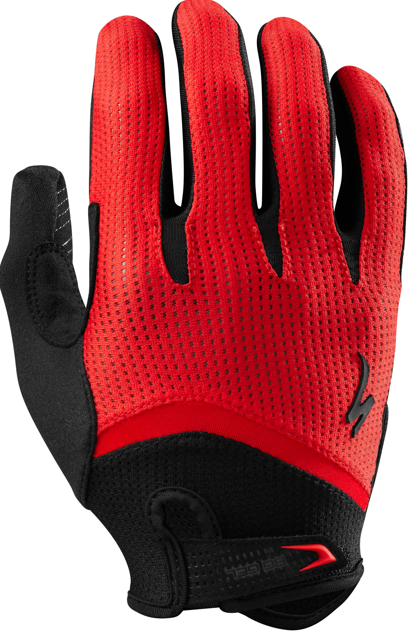 SPECIALIZED BG GEL GLOVE LF RED XL - Bikedreams & Dustbikes