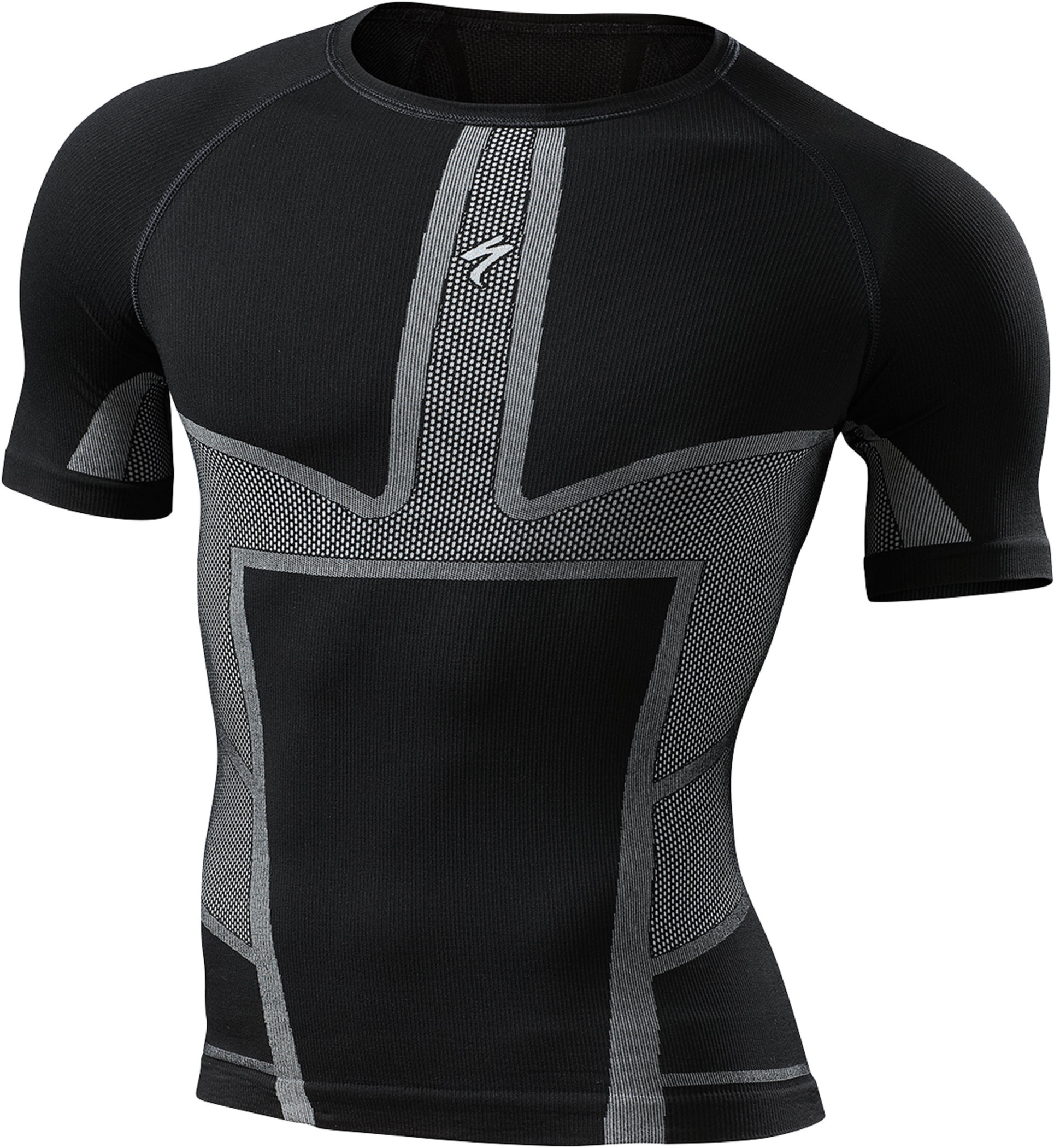 Specialized Engineered Short Sleeve Tech Layer Black Small - Alpha Bikes