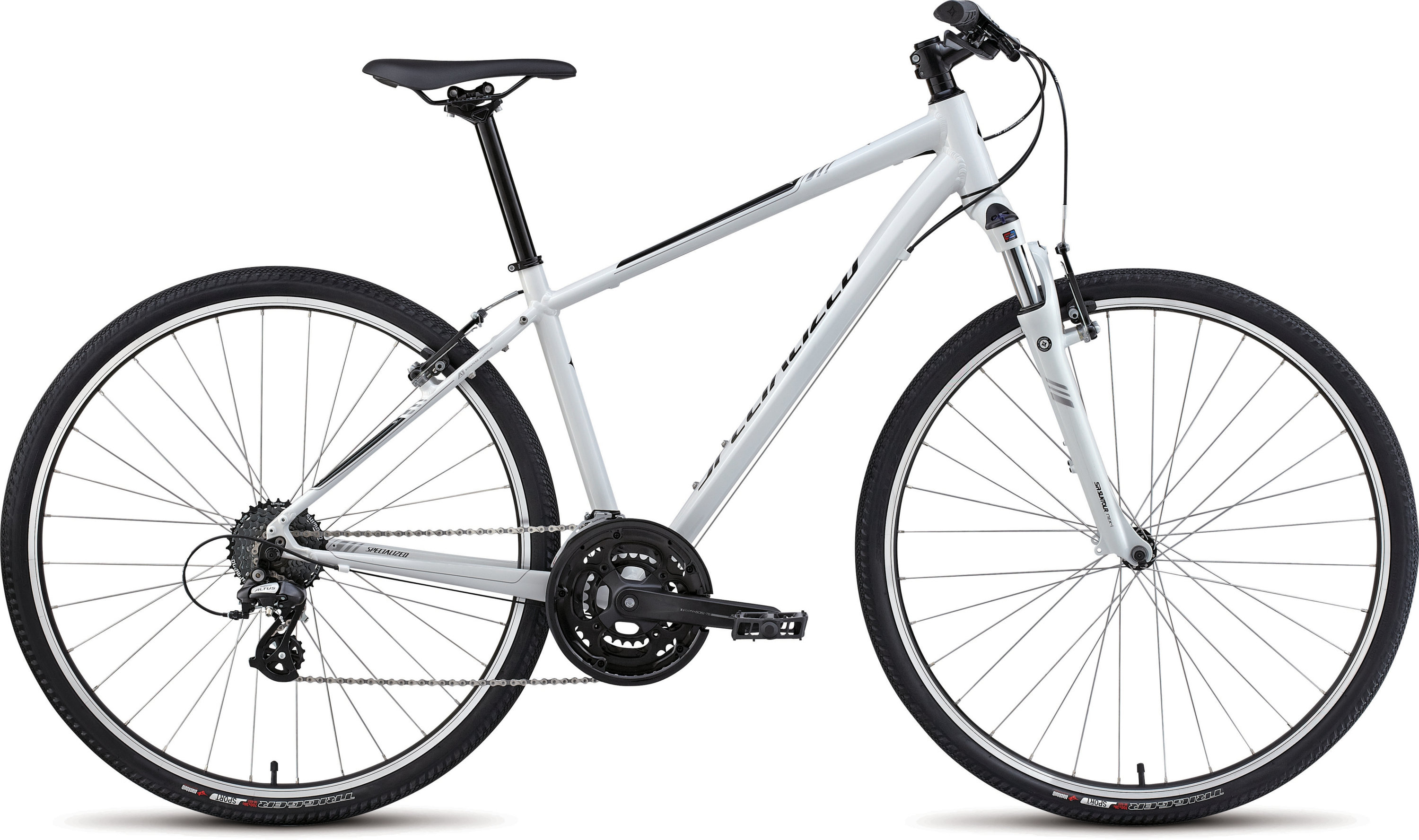 SPECIALIZED ARIEL WHT/SIL/BLK XS - Bikedreams & Dustbikes