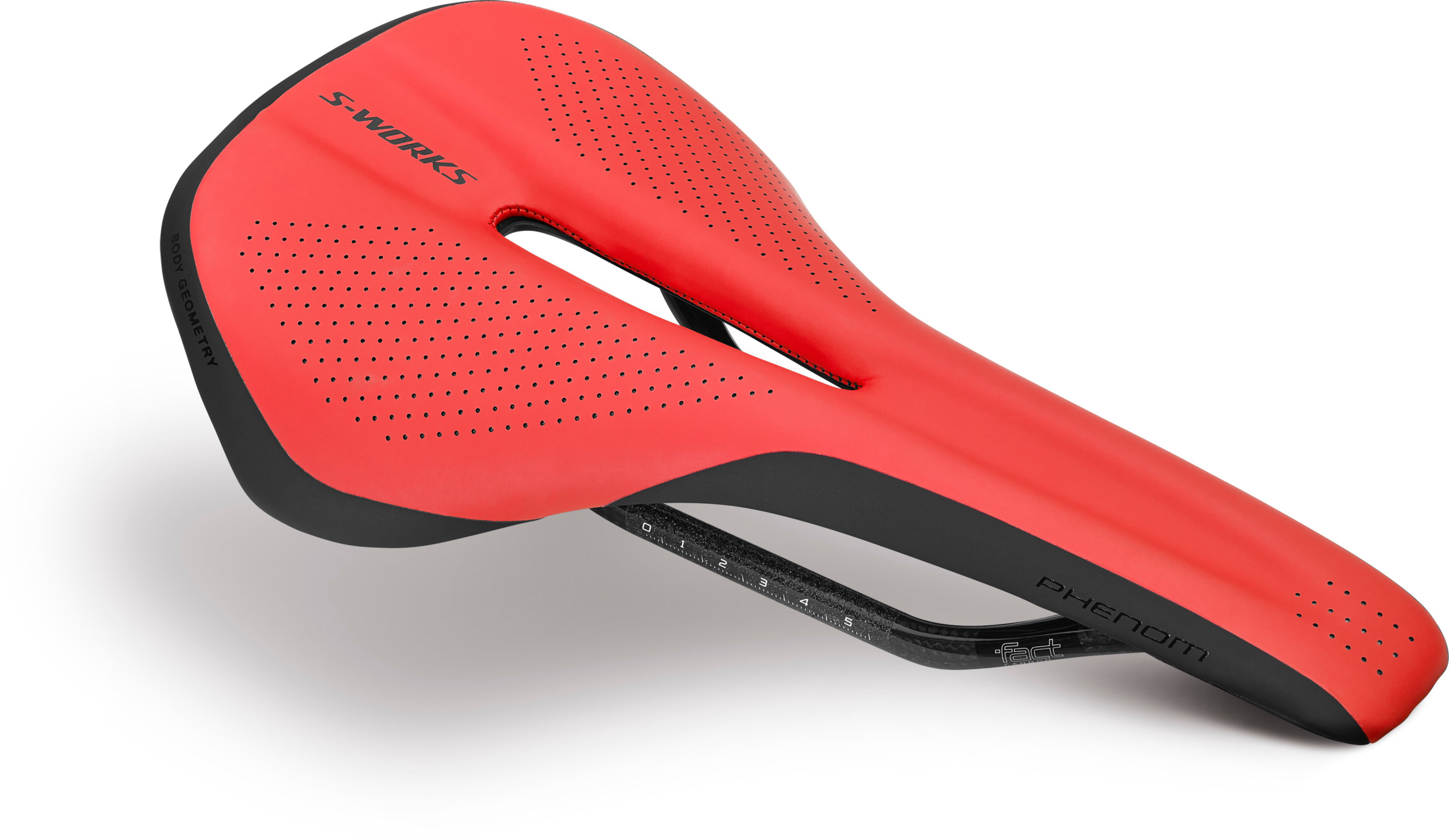 SPECIALIZED SW PHENOM CARBON SADDLE RED TEAM 155 - SPECIALIZED SW PHENOM CARBON SADDLE RED TEAM 155