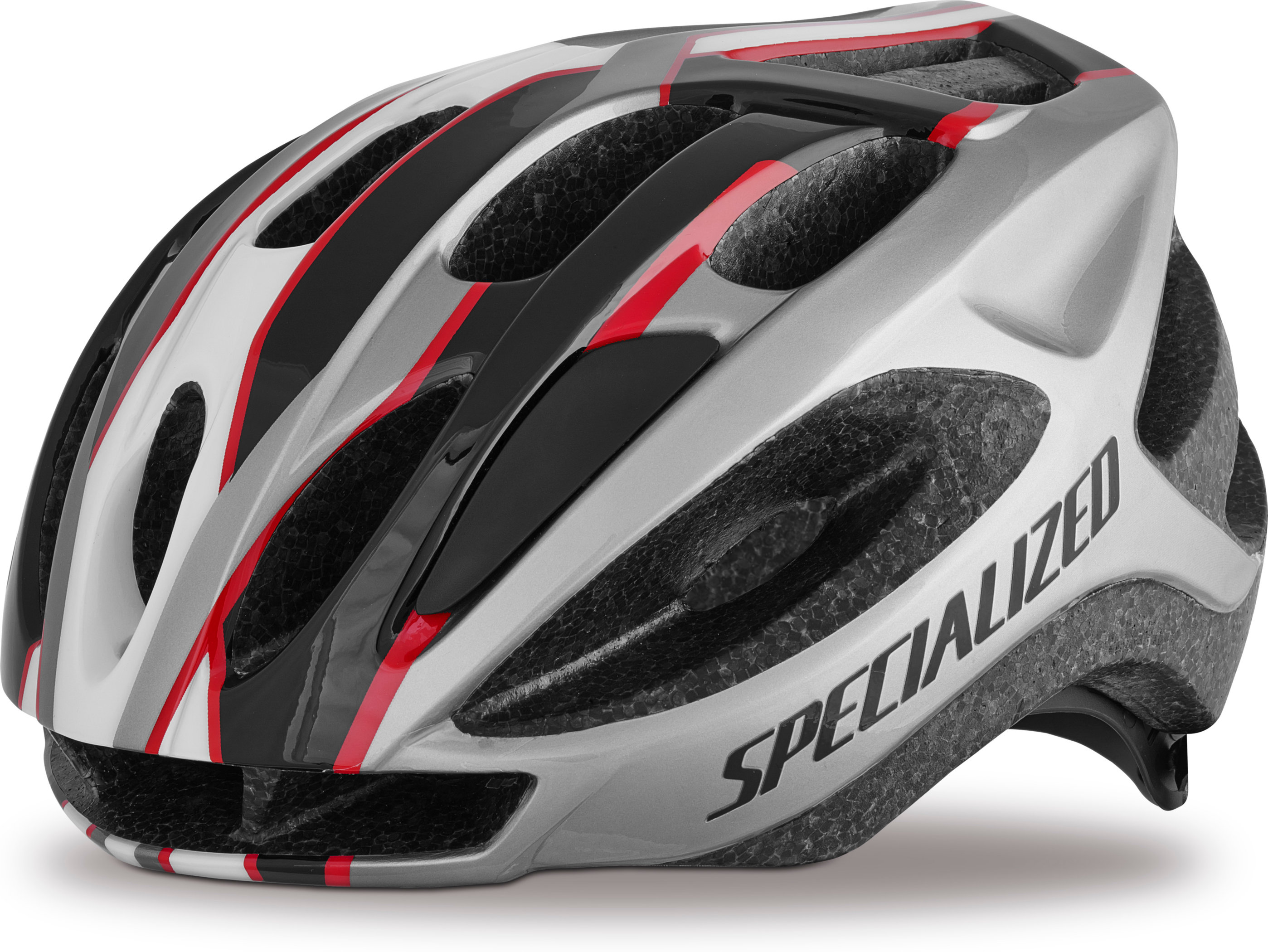 SPECIALIZED ALIGN HLMT CE RED/BLK GRID ADLT - Alpha Bikes
