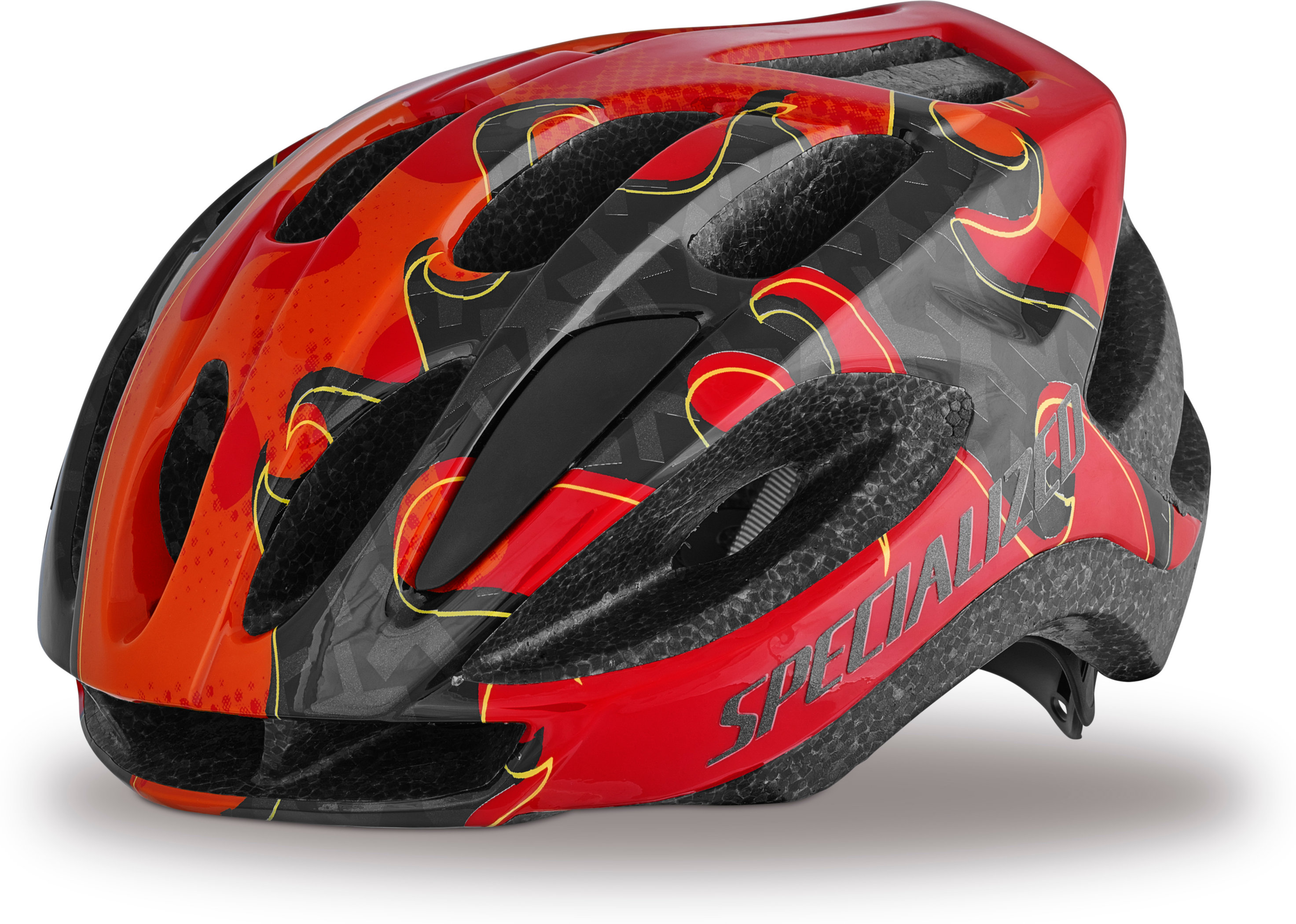 SPECIALIZED FLASH HLMT CE RED FLAME YTH - Pulsschlag Bike+Sport