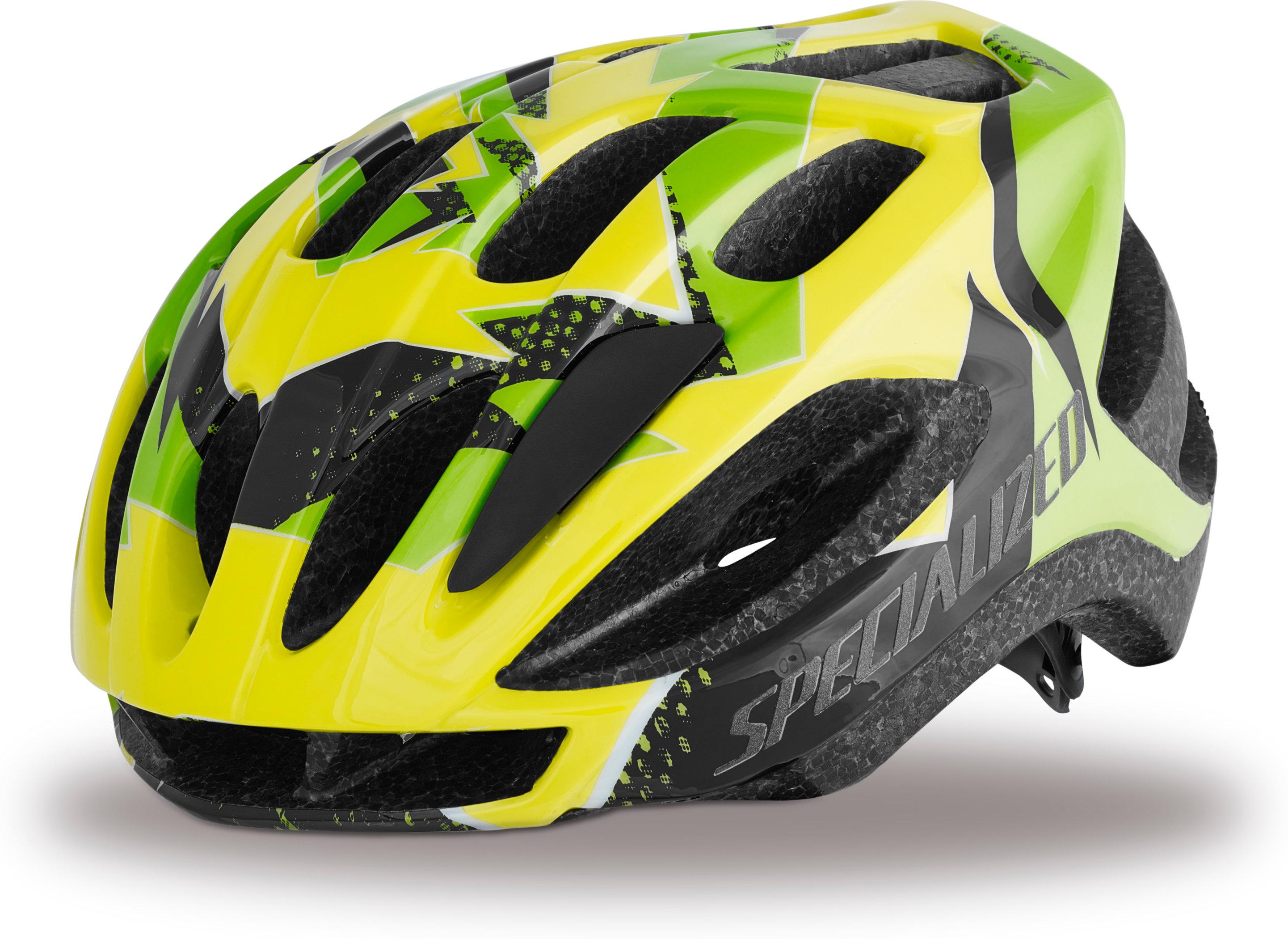 SPECIALIZED FLASH HLMT CE HYP GRN HURRICANE YTH - Pulsschlag Bike+Sport