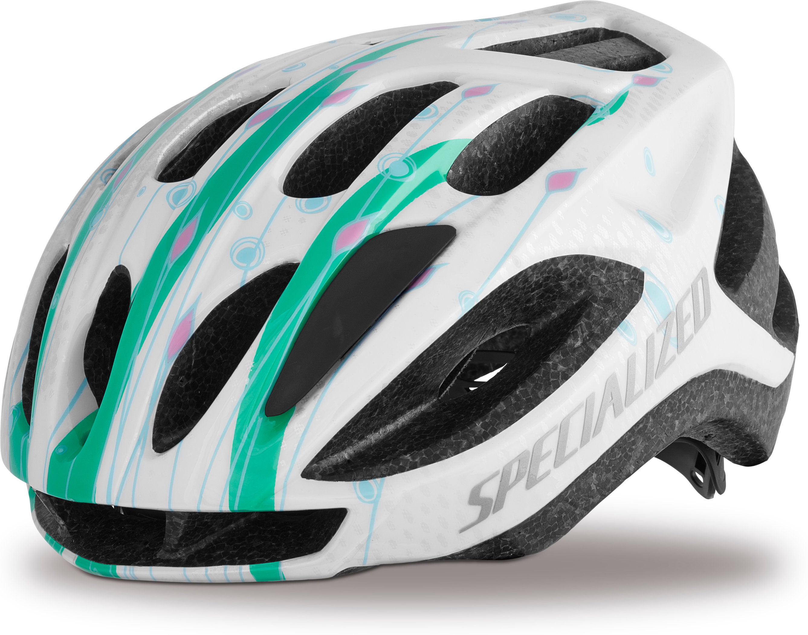 SPECIALIZED FLASH HLMT CE TEAL SPROUTS YTH - Pulsschlag Bike+Sport