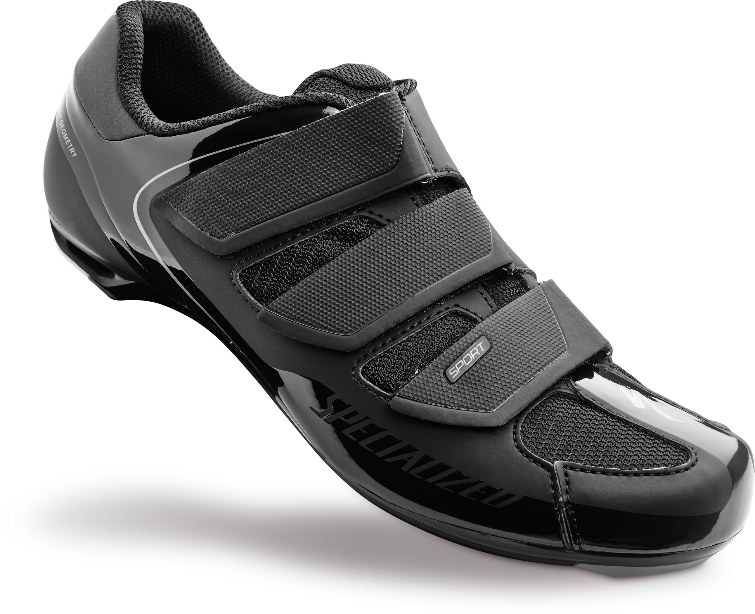 SPECIALIZED SPORT RD SHOE BLK 44/10.6 - Alpha Bikes