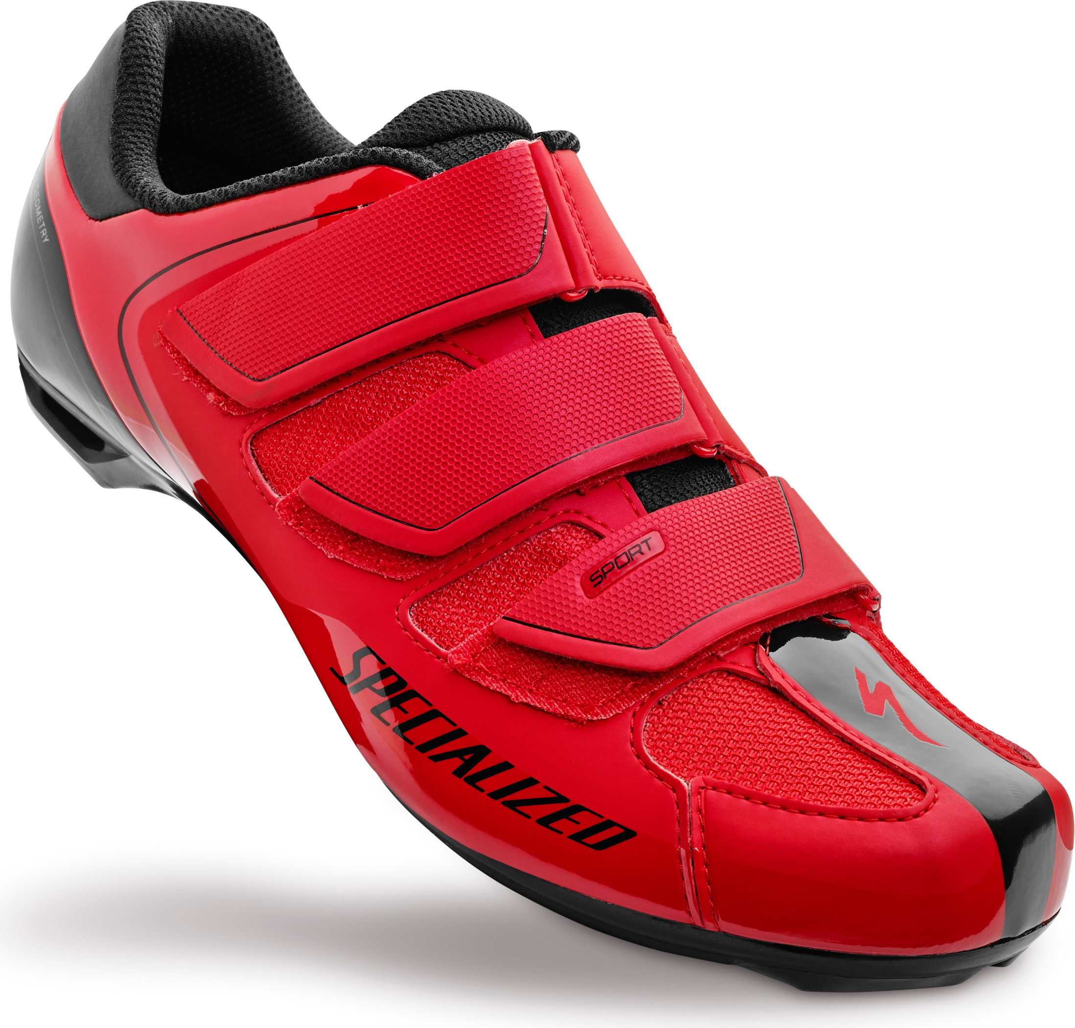 SPECIALIZED SPORT RD SHOE RED/BLK 40/7.5 - Bikedreams & Dustbikes