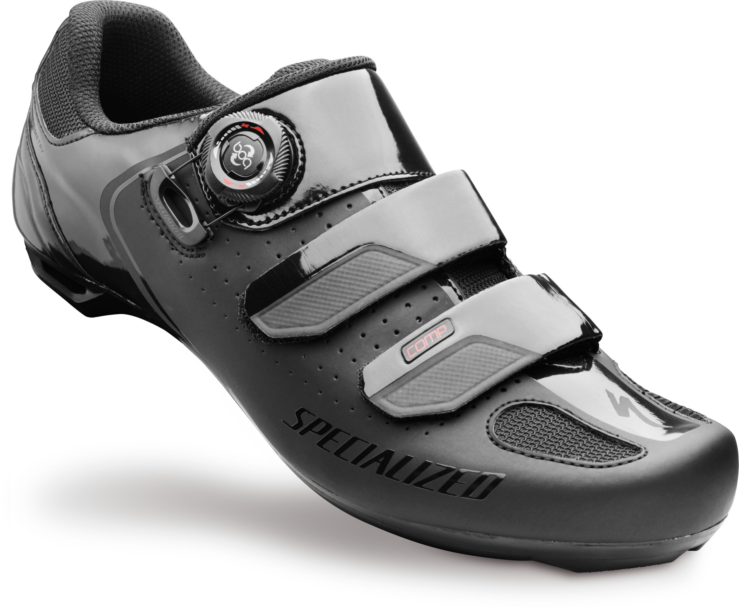 SPECIALIZED COMP RD SHOE BLK 42.5/9.3 - Alpha Bikes