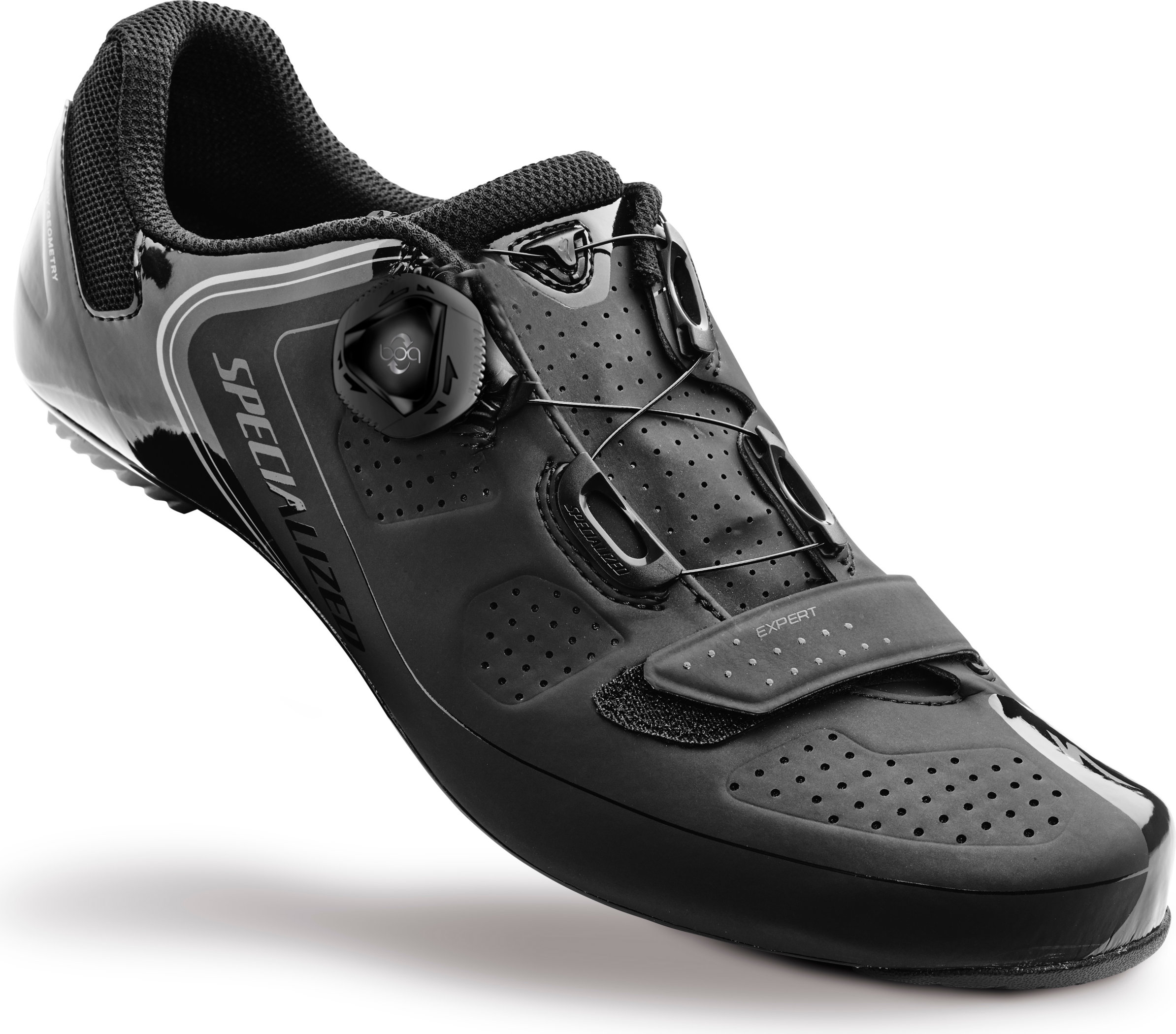 SPECIALIZED EXPERT RD SHOE BLK 42/9 - Alpha Bikes