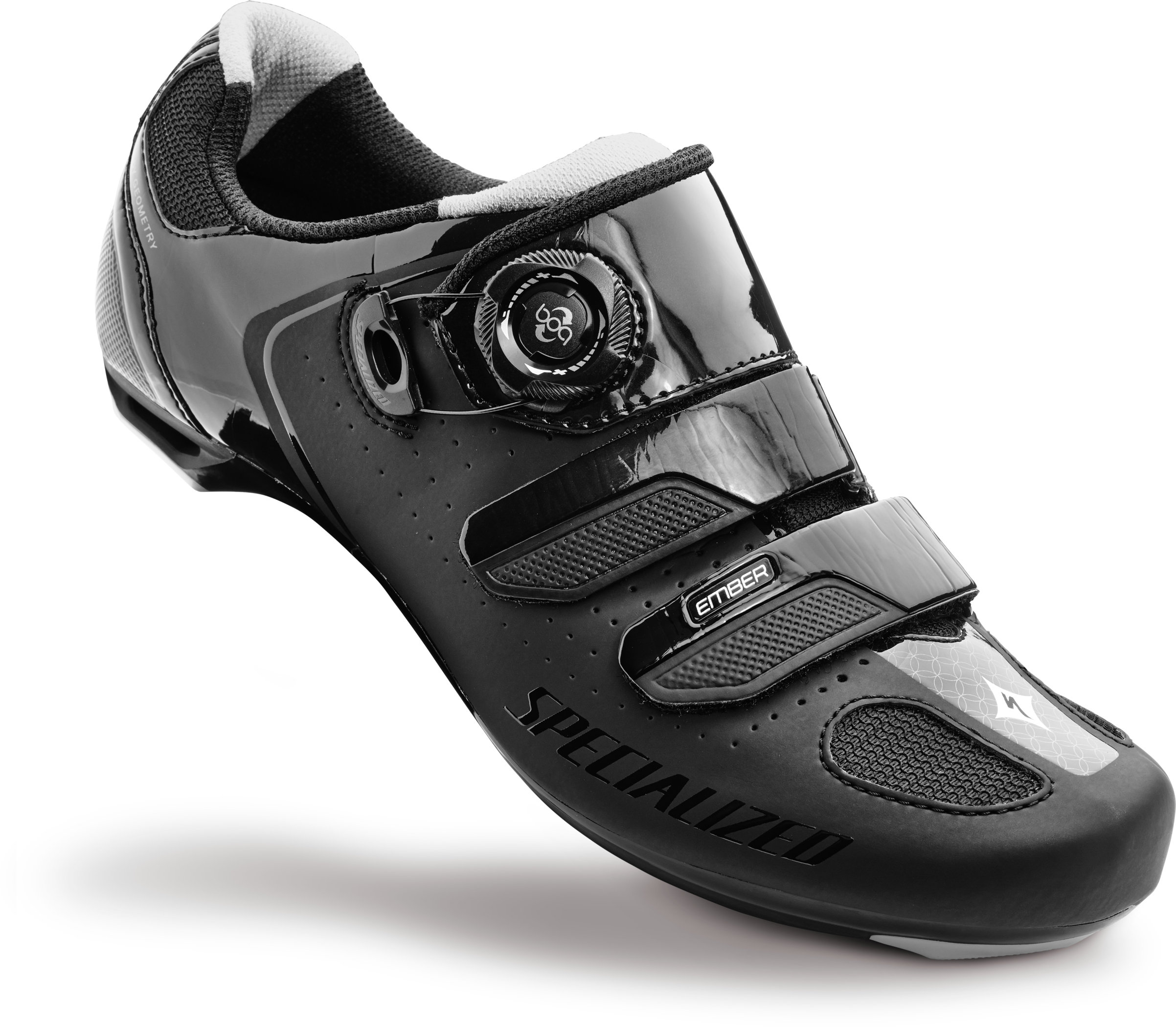 SPECIALIZED EMBER WMN RD SHOE BLK/SIL 42.5/10.75 - Bikedreams & Dustbikes