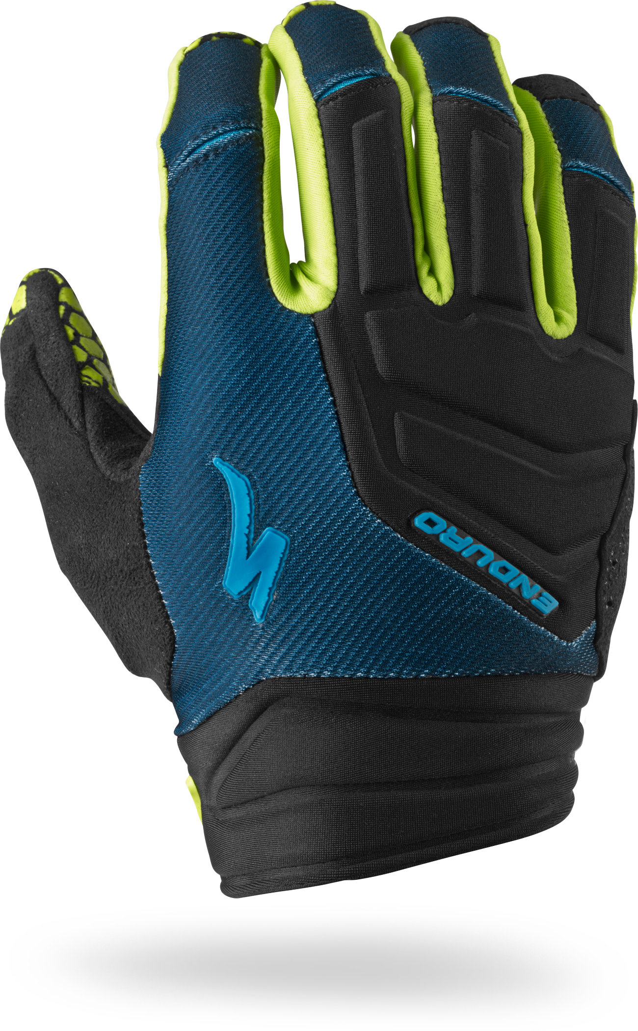 SPECIALIZED ENDURO GLOVE NVY/HYP GRN XL - Pulsschlag Bike+Sport