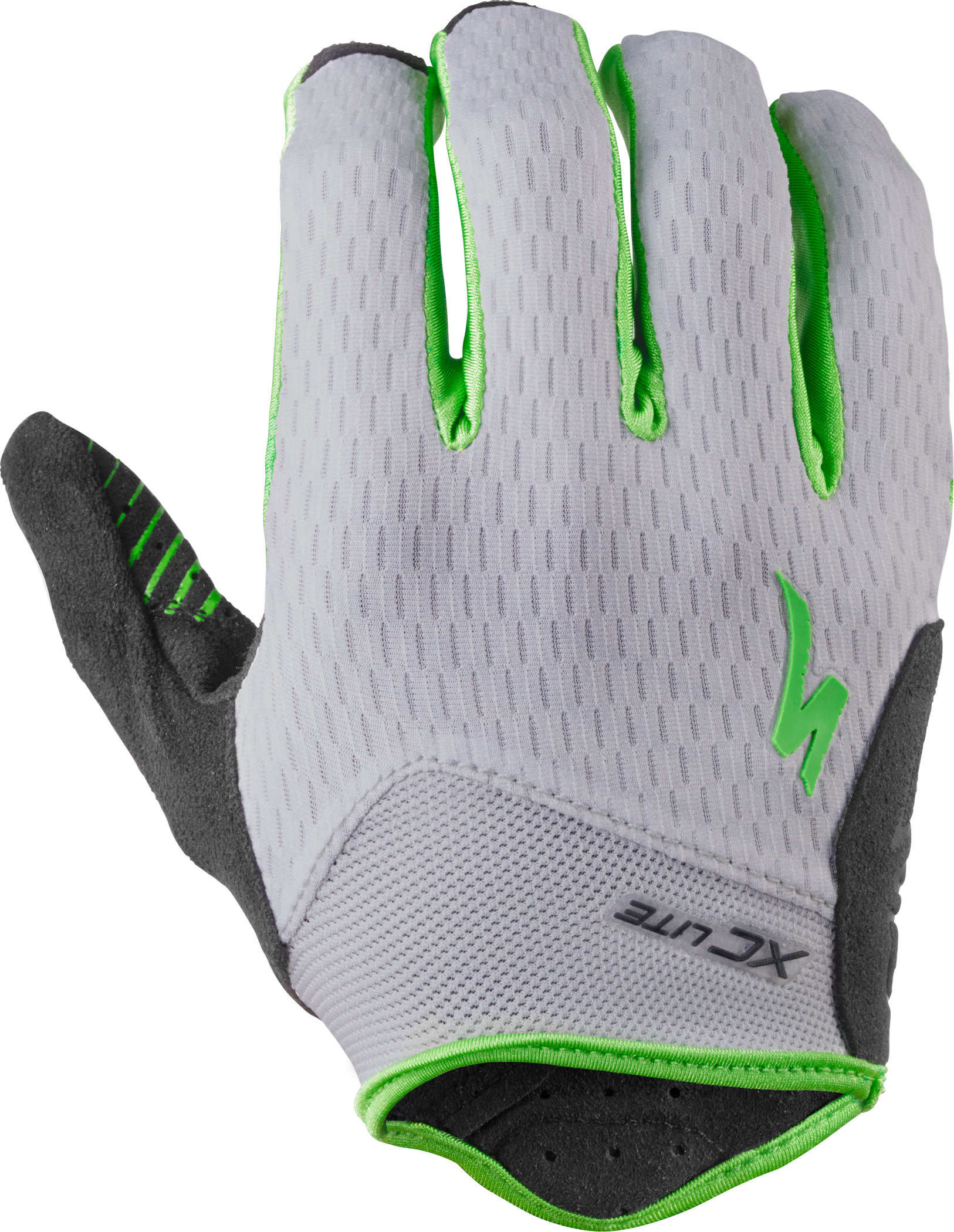 SPECIALIZED XC LITE GLOVE MOTO GRN/GRY L - Pulsschlag Bike+Sport