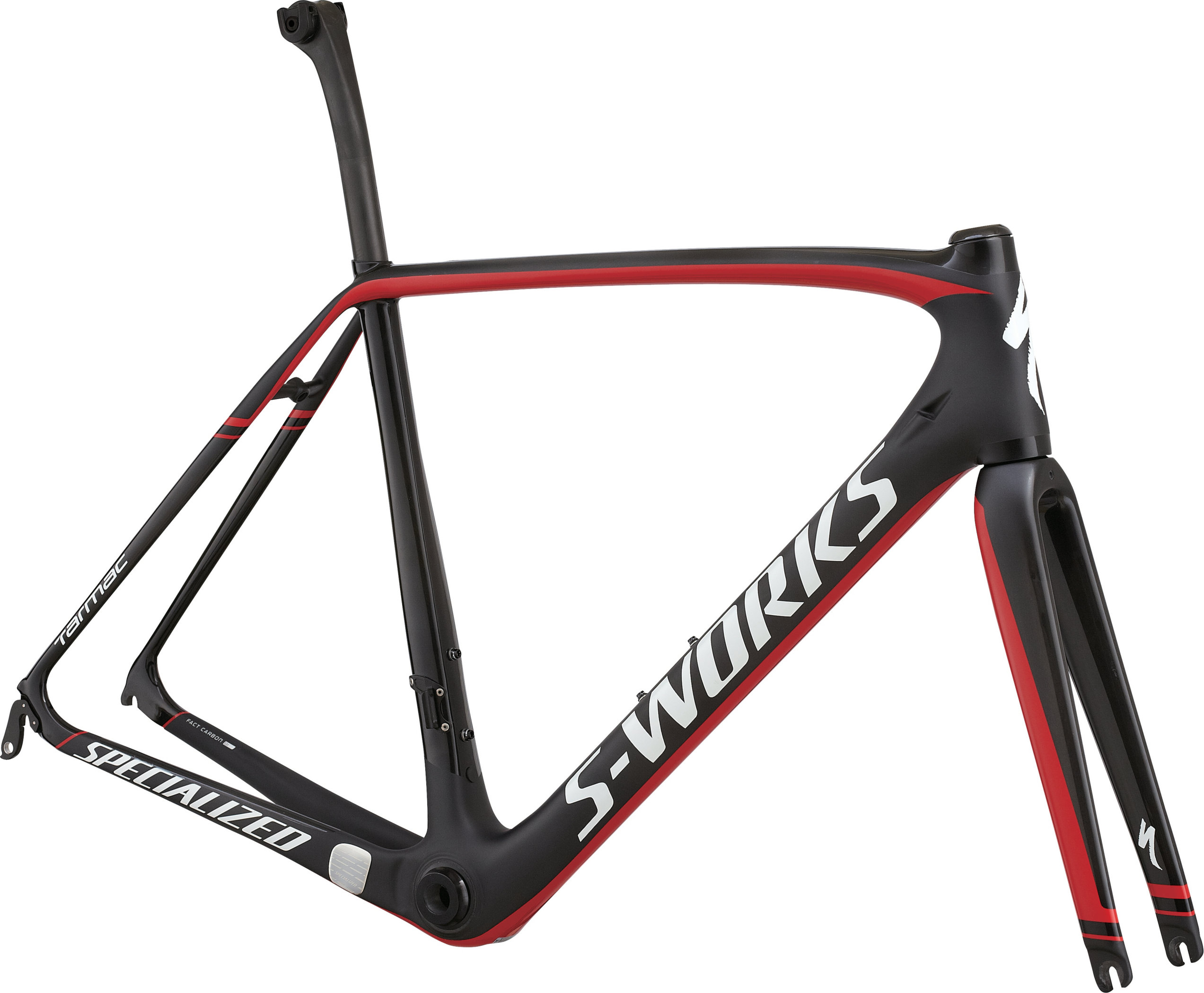 SPECIALIZED SW TARMAC FRMSET CARB/RED/WHT 49 - Bikedreams & Dustbikes