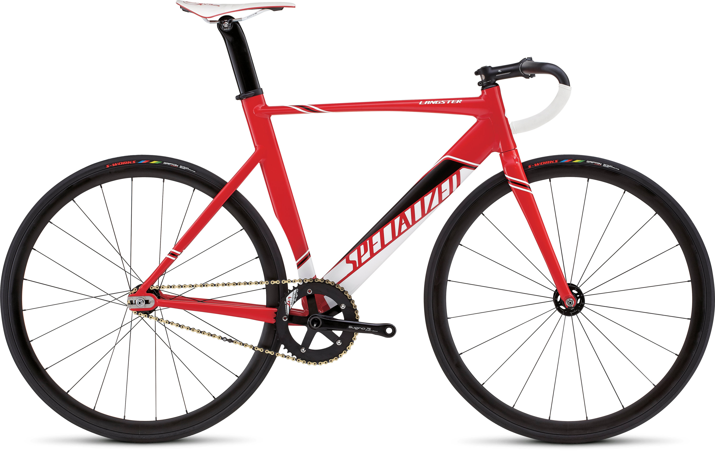 SPECIALIZED LANGSTER PRO RED/WHT/BLK 46 - schneider-sports