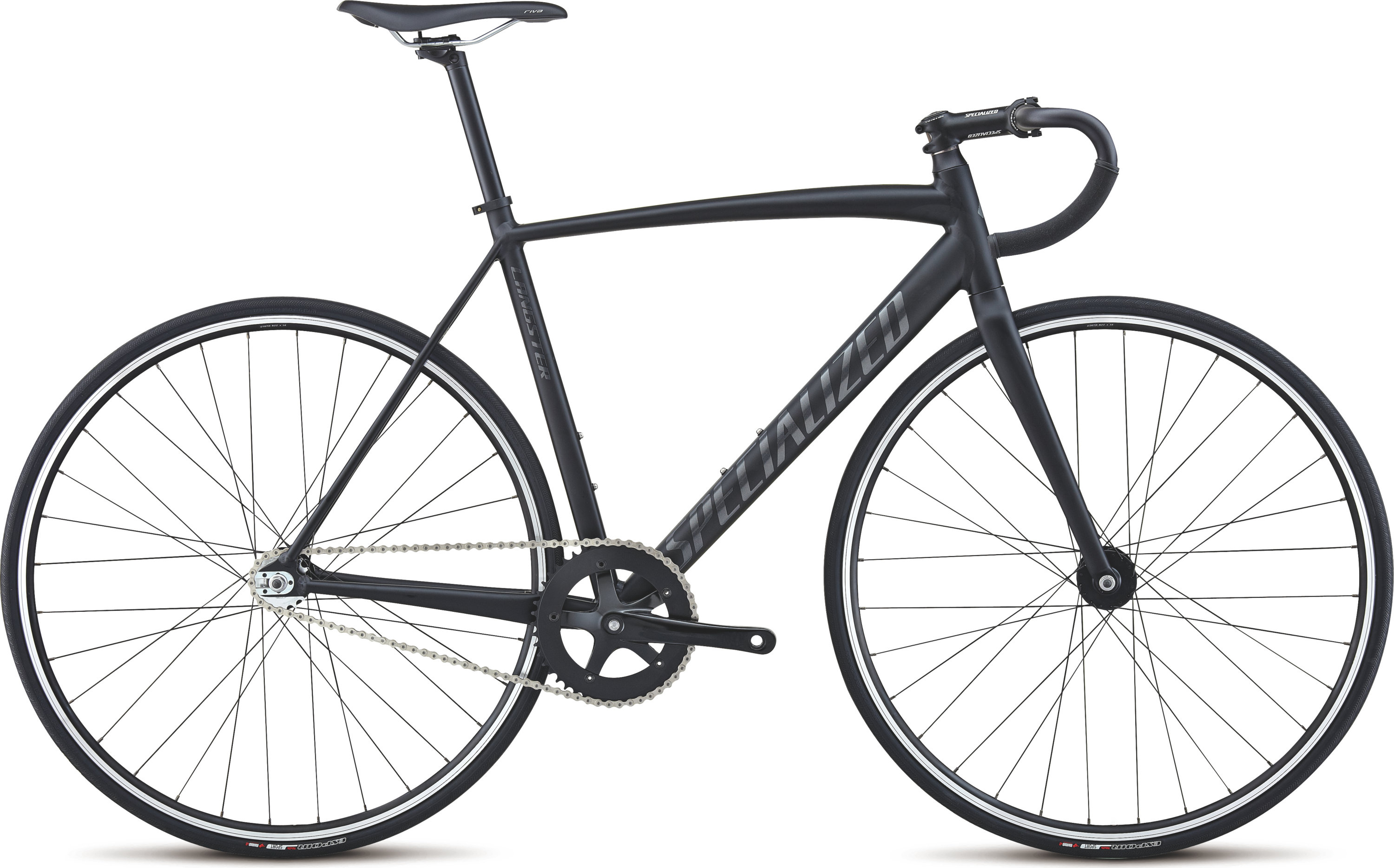 SPECIALIZED LANGSTER BLK/CHAR/SIL 49 - schneider-sports